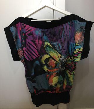 Blusa multicolor Desigual