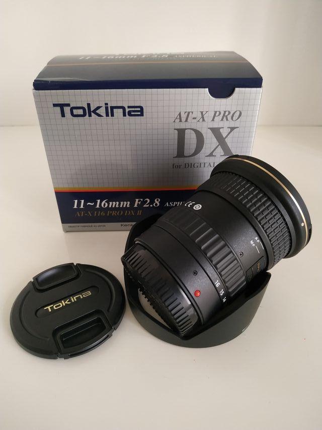 Objetivo Tokina 11-16 mm F2.8 (Canon)
