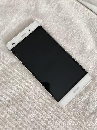 Huawei P8 lite blanco + dos fundas de regalo