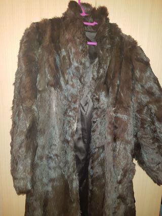 abrigo visón