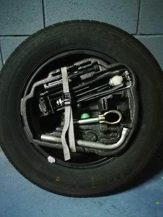 rueda 195/65 R15 recambio herramienta todo nuevo