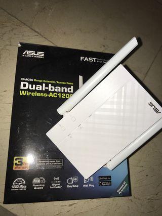 Asus repetidor wifi 5ghz prácticamente nuevo