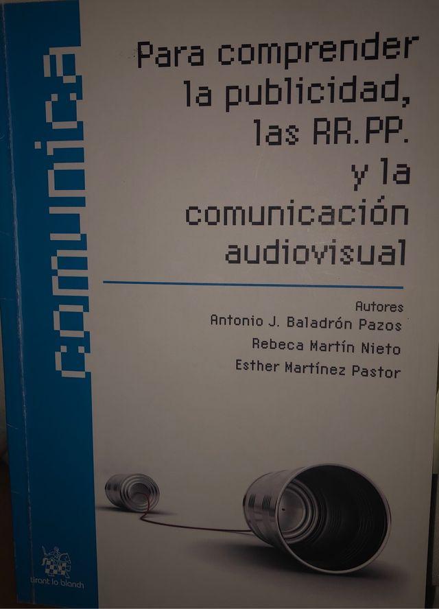 Libro para comprender la publicidad y las relacion