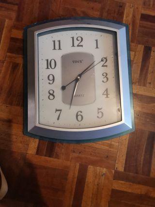 reloj de la Pared para cocina o salón, funciona bi