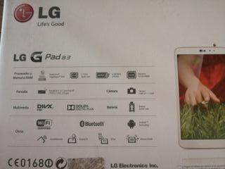 "tablet LG G pad 8.3"""
