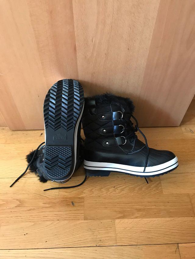 Bota de nieve mujer n39 y zapatos
