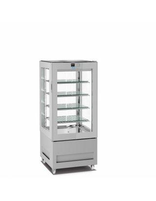 Vitrina de helados - vitra de 65x65x150 cm y 300l