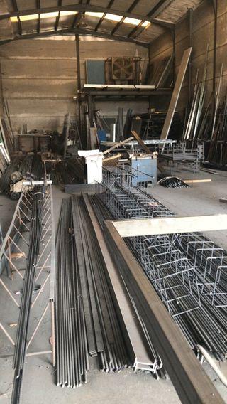 estructuras metalicas y todo tipo de hierro