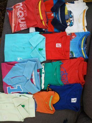 camisetas y polos. bajada de precio