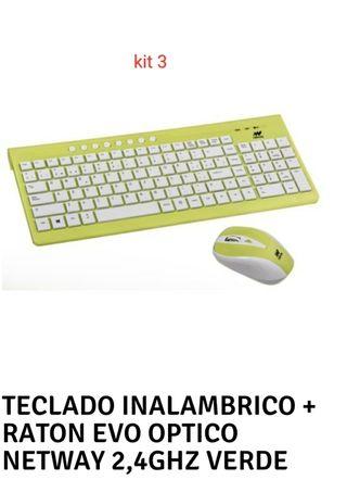 kit de teclado y ratón inalámbrico