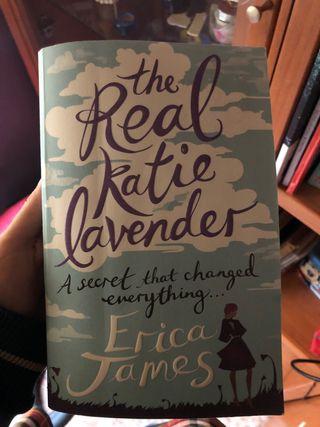 Libro en ingles juvenil The real katie lavender