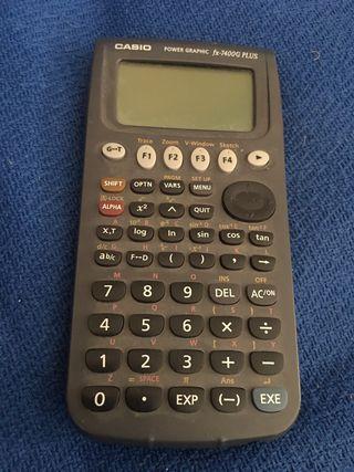 Calculadora Casio programable
