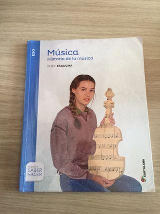 Libro de historia de la música 3ESO