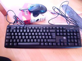 Teclado más ratón