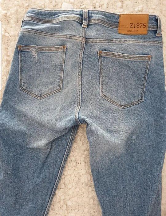 Jeans Zara bordados