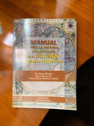 Manual para la historia de los viajes