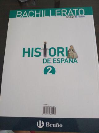 Historia de España 2 bachillerato bruño