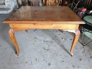 Mesa madera de roble vintage