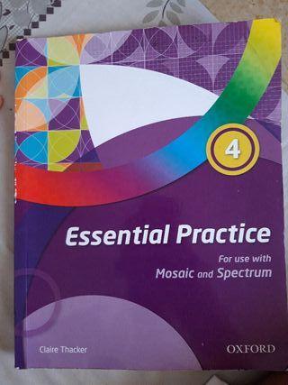 libro de ingles Essential Practice 4