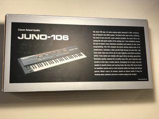 NUEVO. Sintetizador Roland JU-06 Boutique JUNO-106