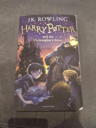 Libro Harry Potter and Philosopher,s stone