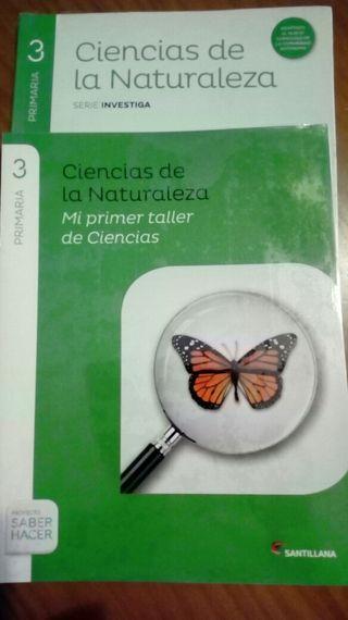 Ciencias Naturales 3 primaria. SANTILLANA