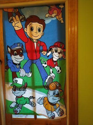 patrulla canina toalla