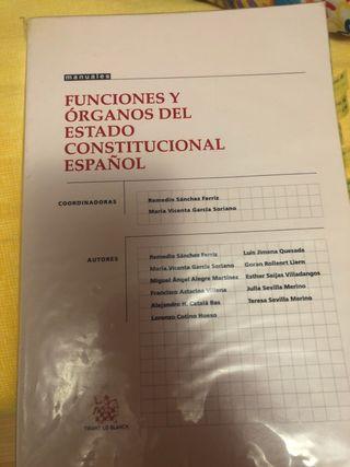 Funciones y órganos del estado constitucional ...