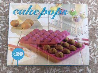Molde silicona cakepops NUEVO