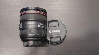 Objetivo Canon EF 24-70mm f/4L IS USM