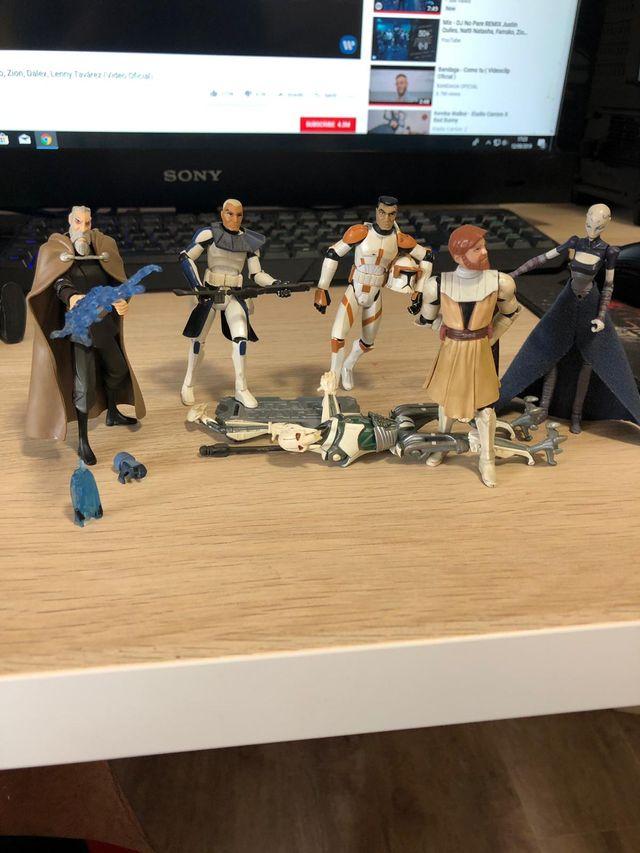 figuras de star wars ya no disponibles en tiendas