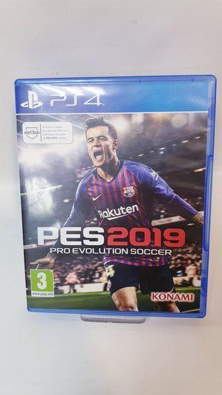 JUEGO PS4 PES2019 PRO REVOLUTION