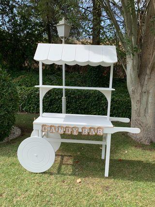 Candy bar carrito