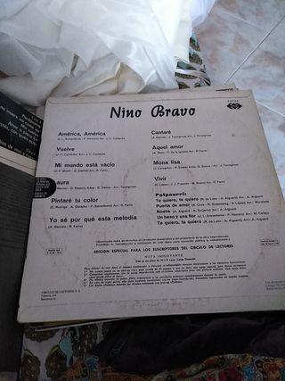 Vinilo del gran Nino Bravo,