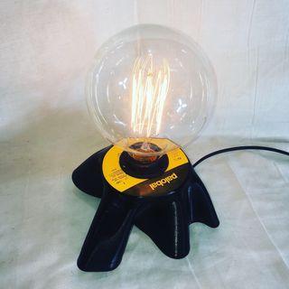 Lámpara disco de vinilo lp vintage 3rd