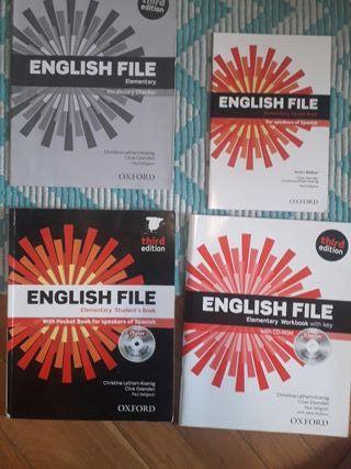 Libros inglés primero escuela de idiomas