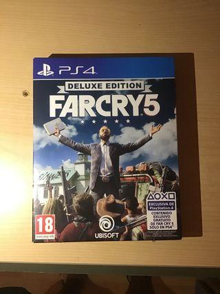 FARCRY 5 PS4 Edición Deluxe