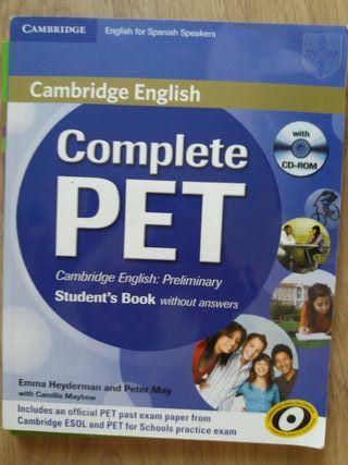 Inglés PET Cambridge