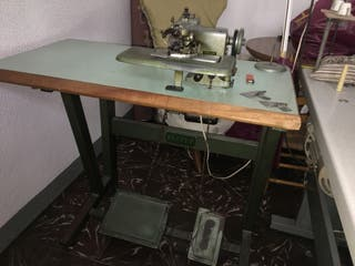 Máquina coser puntada invisible