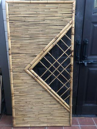 Cabecero bambú