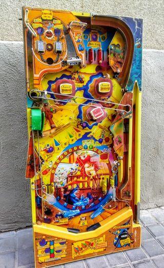 máquina recreativa pinball corsario inder