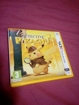 Cambio Detective Pikachu de nintendo 3ds