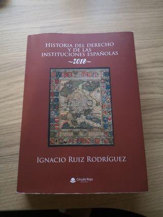 Libro Historia de las Instituciones Españoles