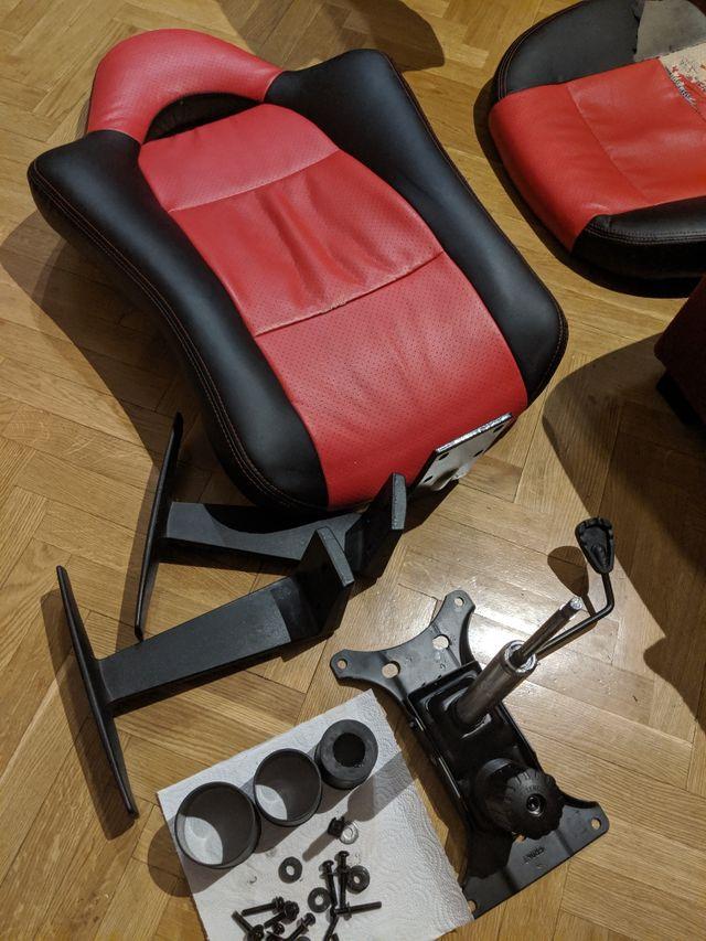 Repuestos silla oficina/gaming/gamer de segunda mano por 20 ...