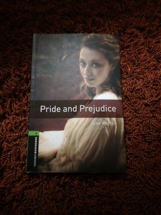 """Libro de lectura en inglés """"Pride anda Prejudice"""""""