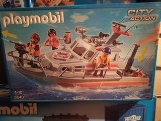 Playmobil barco rescate