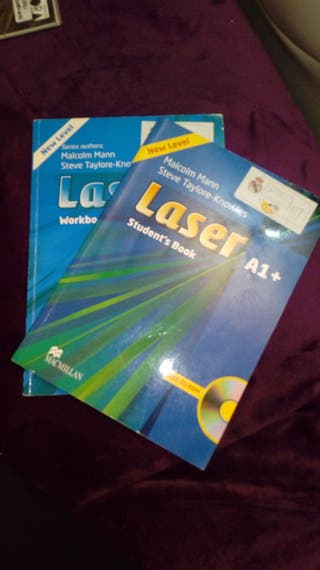 Libros de inglés Laser A1+