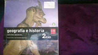Libro de texto Geografía e Historia 2 eso