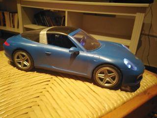 porche azul de playmobil