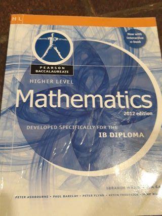 Libro matematicas BI nivel superior HL